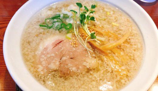 中華そば 坂内製麺の背脂中華そば(塩)